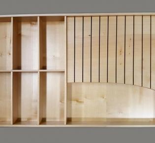 Tischlerei Sebastian Schramm - Besteckkasten aus Ahornholz