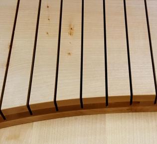 Tischlerei Sebastian Schramm - Besteckkasten aus Ahornholz - Detail
