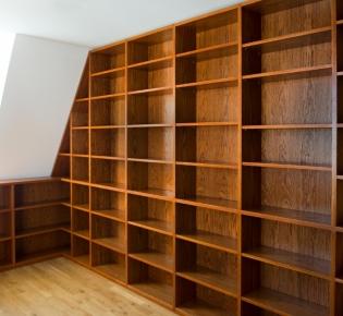 Tischlerei Sebastian Schramm, Dresden Neustadt – Bibliothek, Vollholz