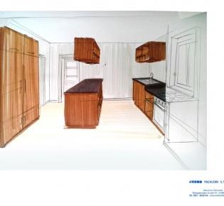 Tischlerei Sebastian Schramm Dresden Neustadt - Entwurf Kücheneinrichtung