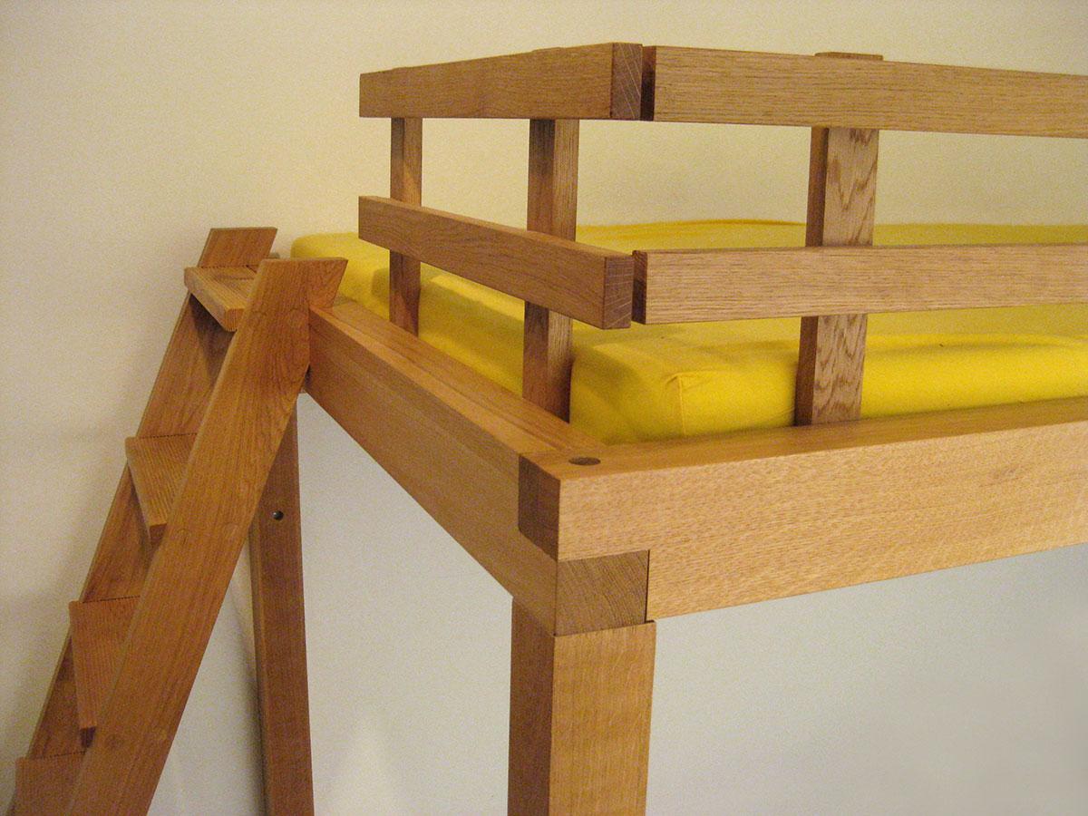 hochbetten f r kinder und erwachsene tischlerei s schramm. Black Bedroom Furniture Sets. Home Design Ideas