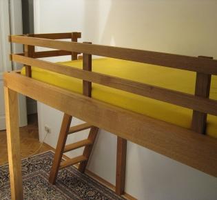 Tischlerei Sebastian Schramm, Dresden Neustadt - Hochbett für Kinder und Erwachsene - Eiche -