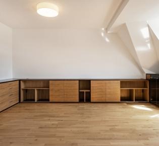 Tischlerei Sebastian Schramm, Dresden Neustadt – maßgefertigter Innenausbau für ein Wohnzimmer