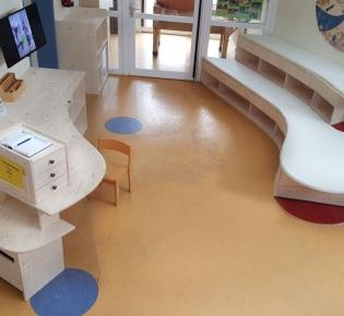 Tischlerei Sebastian Schramm Dresden Neustadt - Kindergarten Empfangstheke