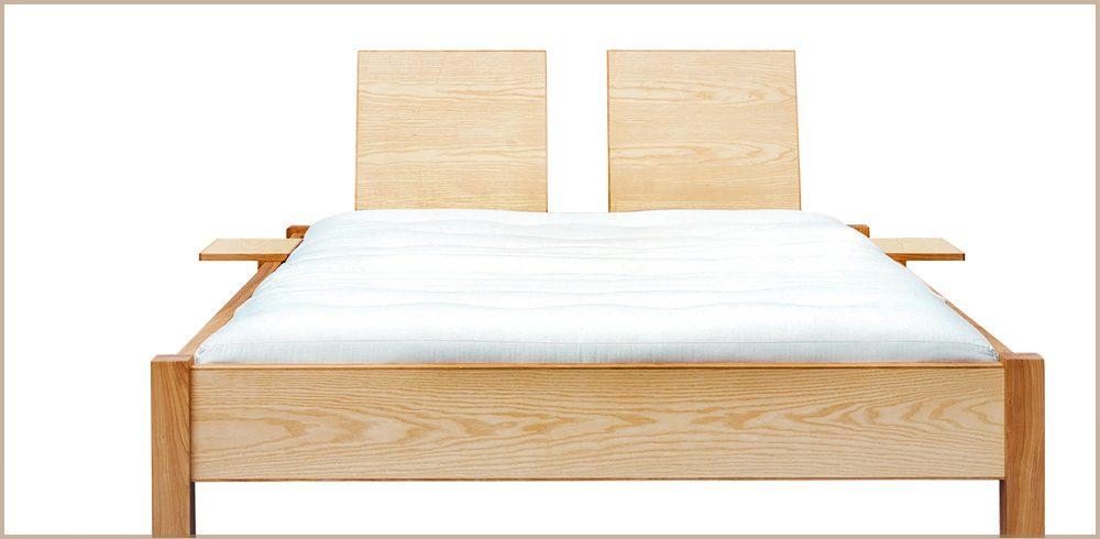 Tischlerei Sebastian Schramm - Doppelbett aus Eschenholz