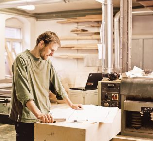 Tischlerei Sebastian Schramm - In der Werkstatt