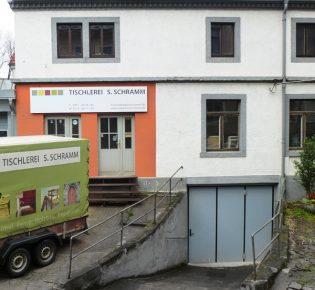 Tischlerei Sebastian Schramm - Werkstatt von außen