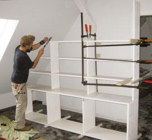 Tischlerei Sebastian Schramm - Baustelle