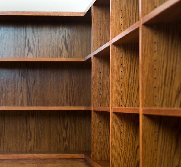 Tischlerei Sebastian Schramm - Bibliothek Startseite