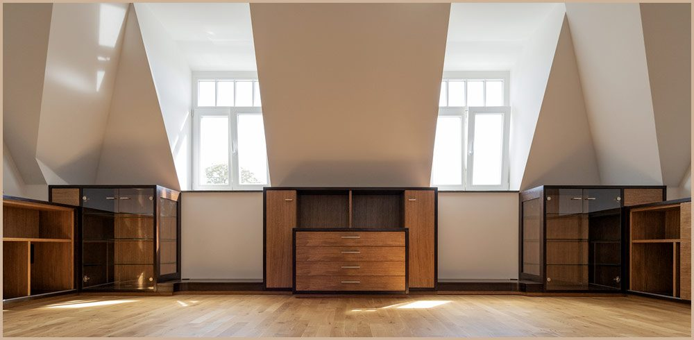 Tischlerei Sebastian Schramm - Innenausbau Dachgeschoß